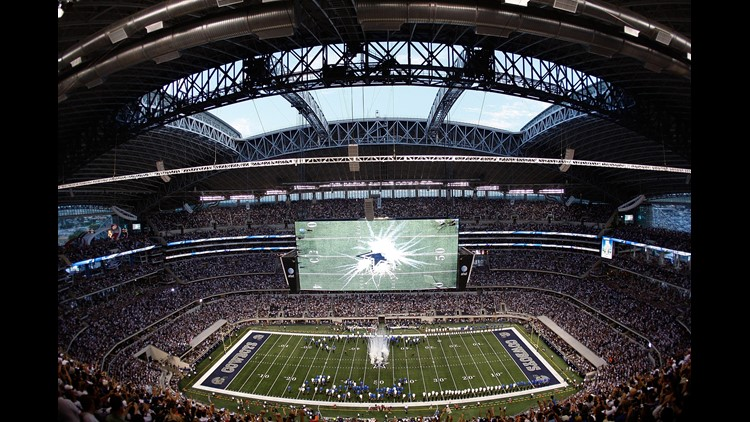 Taking you back to a time when Jerry Jones opened up his brand new world to the masses as the Cowboys faced the Giants in the home opener in 2009