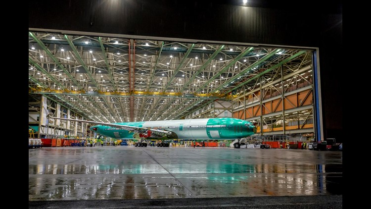 Boeing said last summer it is on schedule to deliver the first 406-seat 777X in 2020.