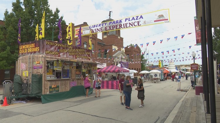 Organizers say they've never had to cancel the festival entirely due to weather, and don't plan to do so this year.
