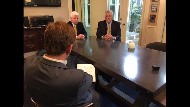 Dan Garrigan & Brett Stalcup, attorneys for the families.