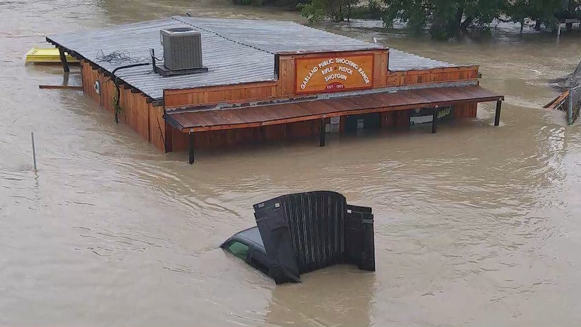Gun range sees worst flooding in 50 years