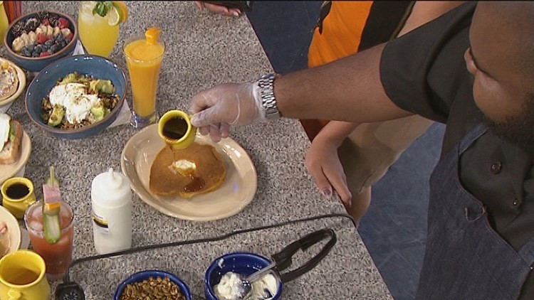 Recipe: Smashin' Pumpkin Pancakes