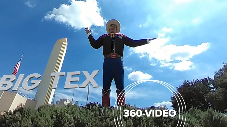 360-degree video views of The State Fair of Texas!