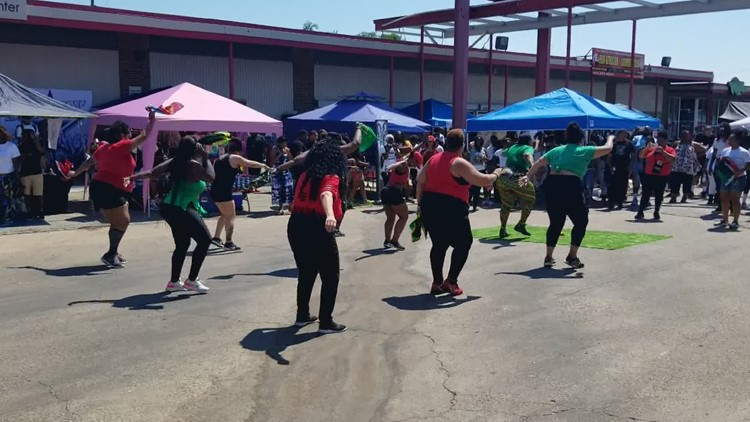 Residents enjoy celebrations across North Texas for first federal Juneteenth holiday