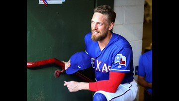 Could the Rangers opt to deal DFW's own Hunter Pence at the deadline?