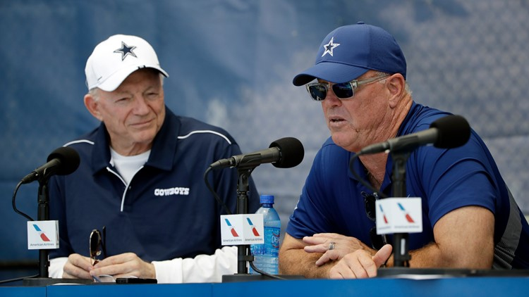 Stephen Jones: Cowboys already getting calls about trading No. 10 overall