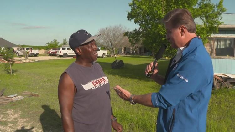 Ellis County residents describe EF2 tornado