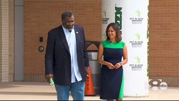 WFAA Original: 'Mean' Joe Greene's new mission honors wife who died from cancer