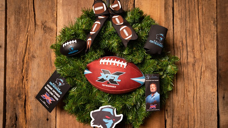 XFL Dallas Renegades Wreath