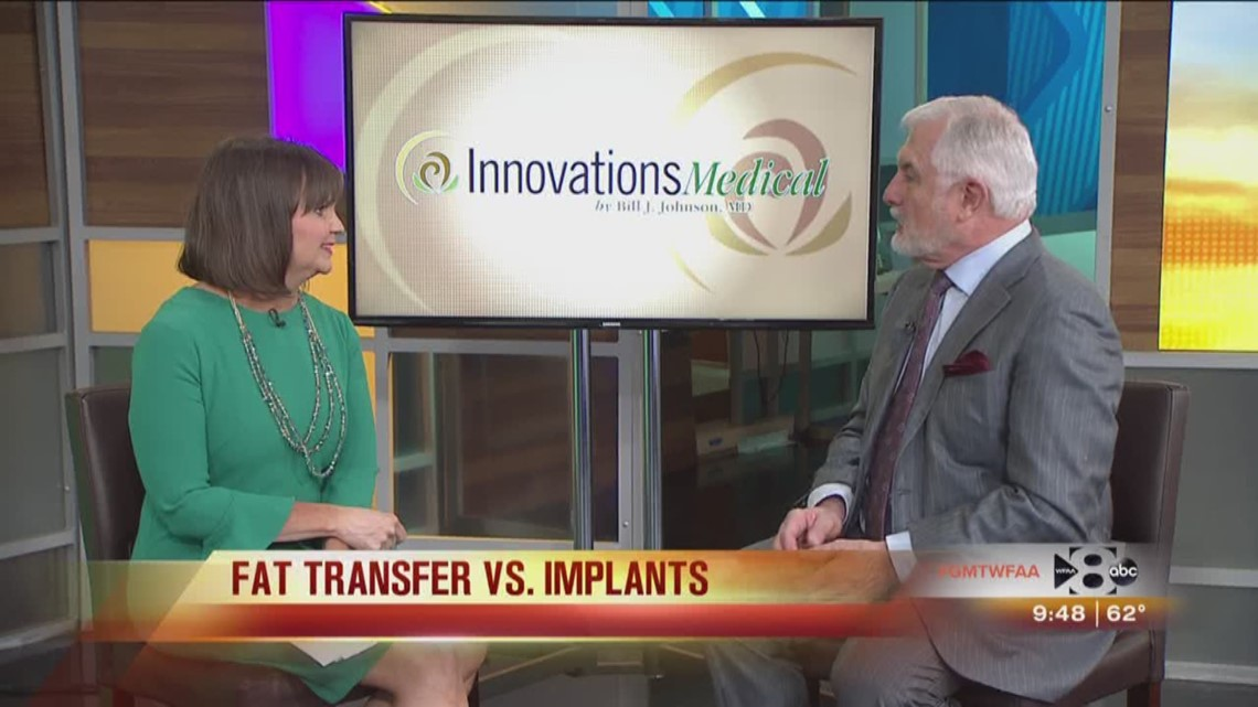 fat transfer versus implants