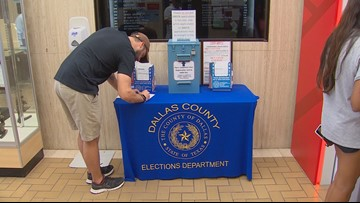 Record number of Dallas Co. residents registering to vote before Oct. 9 deadline