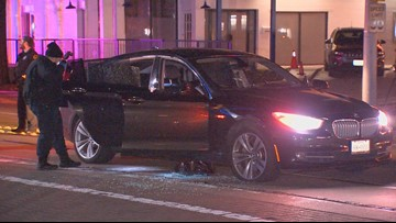 2 injured after someone opened fire on car in Uptown, police say