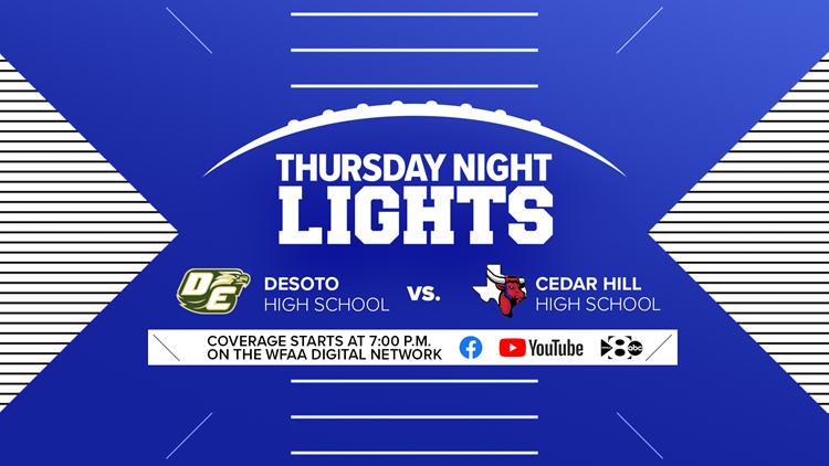 Thursday Night Lights: DeSoto vs. Cedar Hill