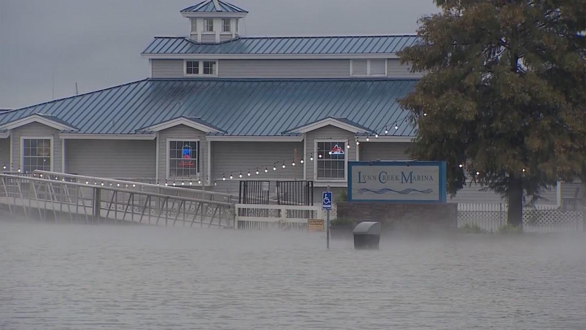 Restaurant Marina Closed As Joe Pool Lake Rises Wfaa Com