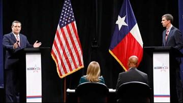 TEXAS DEBATE: Cruz, O'Rourke battle down stretch in closely watched Senate race