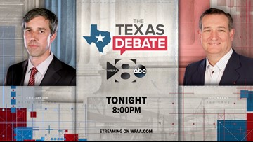 WHERE TO WATCH: The Texas Debate - Cruz vs. O'Rourke