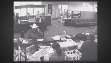 The search for the 'Cowboy Hat Bandit'