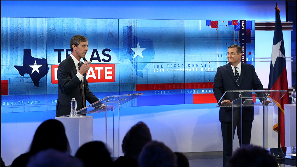 Ted Cruz vs. Beto O'Rourke: The Texas Debate as it happened   wfaa.com