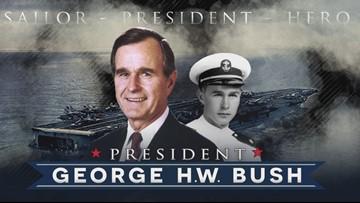 President George H W Bush S Naval Service Wfaa Com