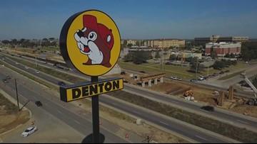 Buc-ee's location in Denton opens