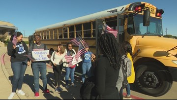 Duncanville students vote for the first time during planned field trip