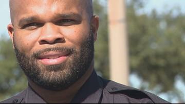 Denton police officer honored for saving newborn's life