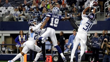 Titans' Kevin Byard taunts Cowboys by channeling Terrell Owens, celebrating on star
