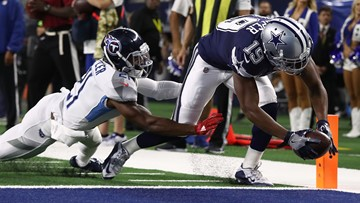 Cowboys stumped in loss to Titans despite boost from Amari Cooper