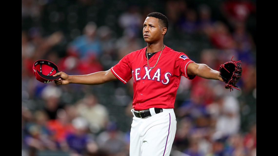 Reliever Jose Leclercbecame pitching revelation for Rangers