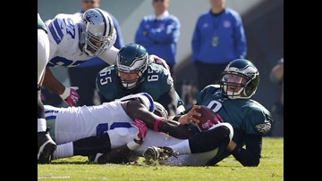 Memory Lane: Cowboys handle Eagles in Philadelphia in 2013