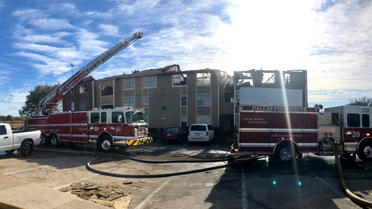 'I just told the mom I wouldn't drop the baby' residents help each other from apartment fire