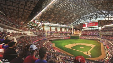 How the new Rangers stadium will feature natural light, even with the roof closed