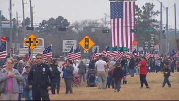 Small Texas towns watch Bush's state funeral come to an end