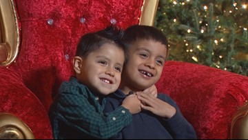 Wednesday's Child: 5-year-old Michael and 3-year-old Andres