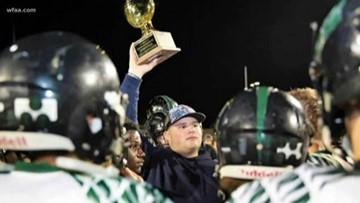 TCA offensive lineman battles cancer, kicks field goal, wins championship