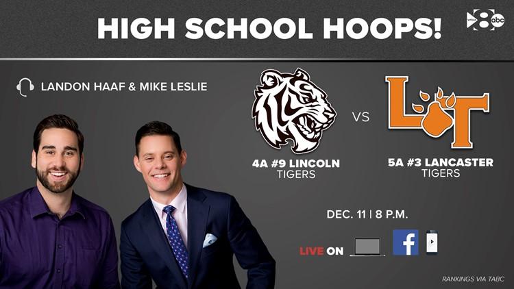 Live high school hoops: 4A No. 9 Lincoln vs. 5A No. 3 Lancaster