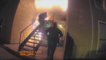 VIDEO: Balch Springs police rescue boy from burning apartment