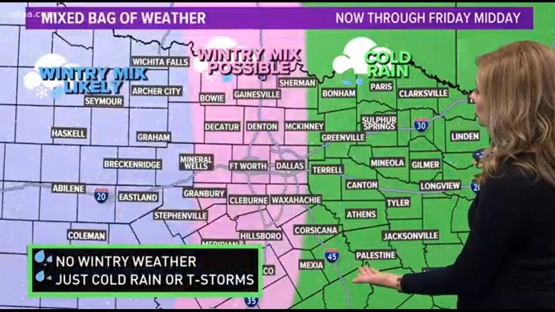 Wfaa Dfw Weather Forecast Www Bilderbeste Com