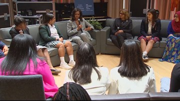 Michelle Obama's book 'Becoming' on tour in Dallas
