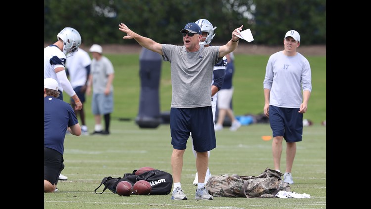 Patrick's POV: Linehan is handcuffing Cowboys offense