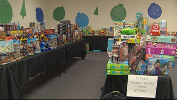 Pop-up shop helps families of abuse victims in Tarrant County