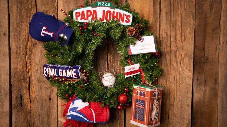 Papa John's  Wreath
