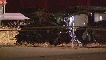 Early morning car accidents shut down parts of I-30 and I-35 in Fort Worth and DeSoto