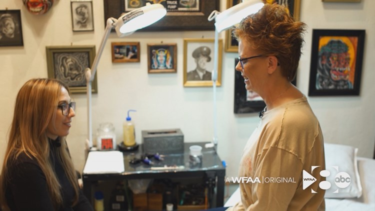 Dallas tattoo artist restores breast cancer patients' most intimate features