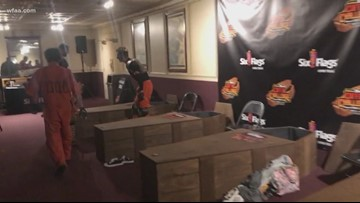 Six brave souls sign up to sleep inside coffin for 30 hours at Six Flags Texas