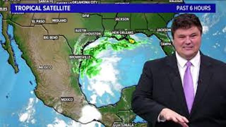 Tracking Tropical Storm Nicholas: Sept. 12, 2021