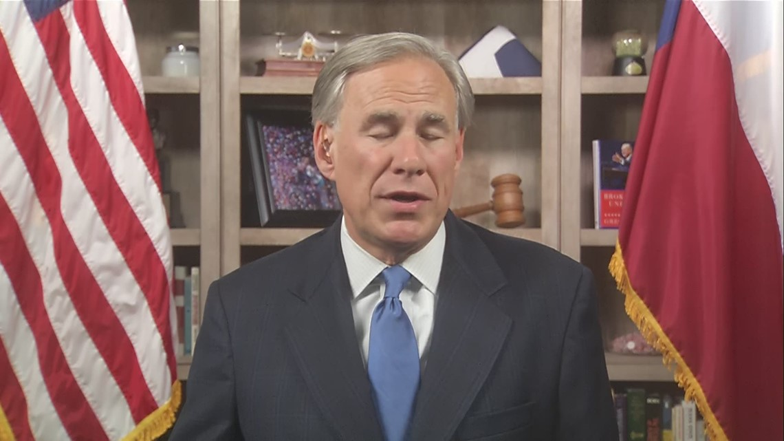 Gov. Greg Abbott 1-on-1 interview with WFAA: Masks, voting rights, schools