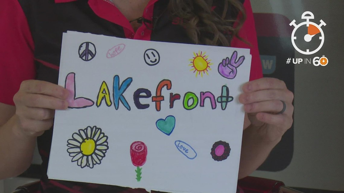 Up in 60: Colorful drawings popping up in Little Elm