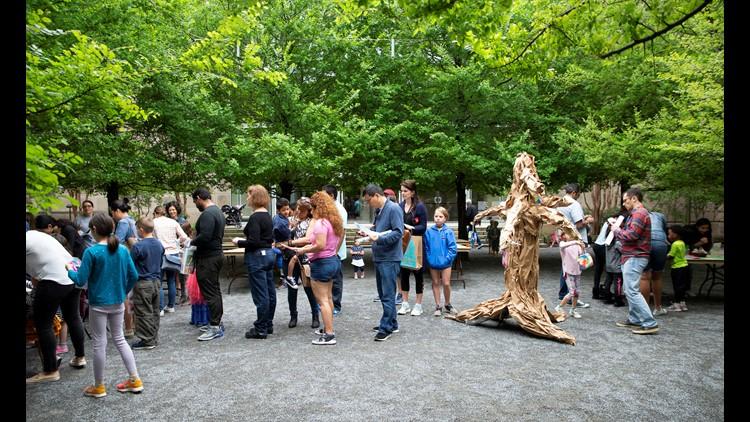 Courtyard Art Family Fest