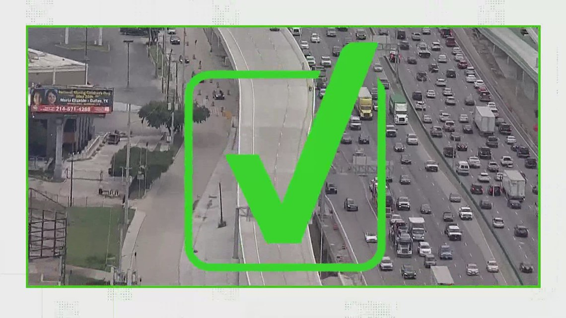 VERIFY: Yes, money from NTTA tolls goes directly back into North Texas roads. Here's how